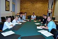 Conseil municipal des jeunes.